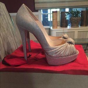 Christian Louboutin peep toes